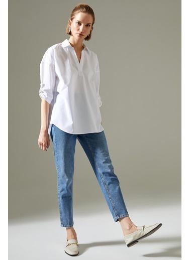 DeFacto Bluz Beyaz